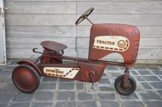Catawiki online auction house: 1950s AMF pedal car - pedal tractor