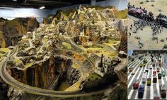 Next stop, the world's largest model railroad! One man's spectacular construction that took 16 years to build