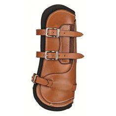 duurzaam - schokabsorberend - beschermt het paardenbeen - anatomische vorm - inzetstuk uit zacht neopreen materiaal - kwaliteitsleer - elastisch - nauwsluitend - per paar - voor het voorbeen
