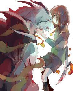 Asriel & Chara