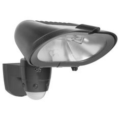 Quanta Outdoor Security Light with PIR in Graphite Effect, 0000005240876 £24.98. B&Q 12m Detection Range, and doesn't blind neighbours.