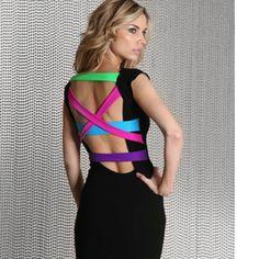 Love this Quontum Neon Dress