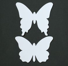 via Kikkis planet: butterfly template for wall decor, mobiles | Make ...