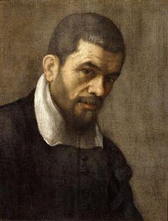 Carracci Annibale (scuola di) - Ritratto d'uomo - 1600-1609 - Accademia Carrara di Bergamo Pinacoteca