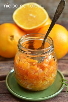 skórka pomarańczowa Preserves, Cantaloupe, I Am Awesome, Food And Drink, Menu, Sweets, Fish, Homemade, Baking