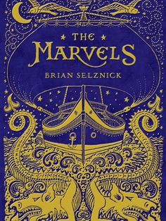 We can't wait for The Marvels by Brian Selznick to come out in a week or so. For our kids. (But also for us.)