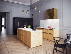 This is the stunning result of two cultures coming together on one project. London-based design firm Art Buro transformed this Parisian apartment into a space that's more art gallery than...