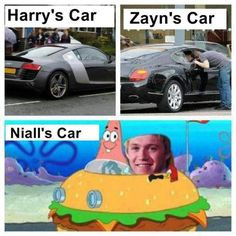 Funny One Direction | niall horan 1d 1d funny one direction spongebob squarepants