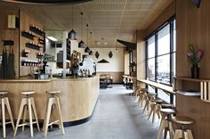 <p>Native to Australia is the Common Galaxia fish, the inspiration for a new restaurant adjacent to the aquatic animal's home on Melbourne's Saltwater River. A tried and true approach succ