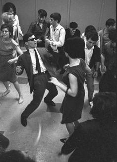 Leçon de twist, Paris ( 1960s) .