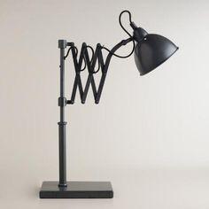 Accordion Task Table Lamp   World Market