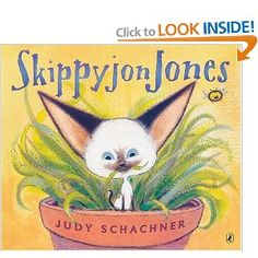 If you have not had the pleasure of reading a Skippy jon Jones book, do it now! You will giggle all the way through.