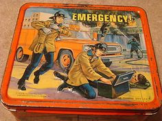 emergency television show photos | Emergency TV Show Television Series Metal Lunchbox EMS Firefighters ...