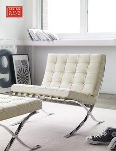 Barcelona® Chair | Design Within Reach Poltrona Barcelona, Barcelona Chair, Furniture  Design,