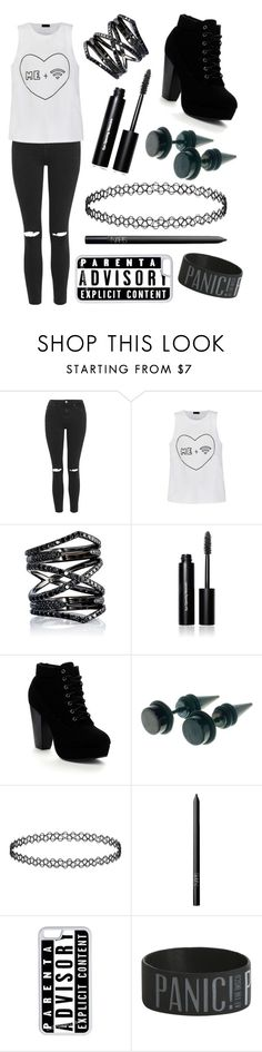 """Casual"" by missolivetree ❤ liked on Polyvore featuring Topshop, Ally Fashion, Eva Fehren, Bobbi Brown Cosmetics, Beston, NARS Cosmetics and CellPowerCases"