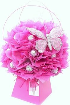 Love handmade gifts? Love chocolate? Love flowers? . . . Then you will love this Pink Fushia Chocolate Bouquet by The Chocolate Florist! Visit www.thechocolateflorist.co.uk to find out more about us.