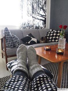 Vintage Country, Retro Vintage, Marimekko, Living Room, Interior, Home, Indoor, Ad Home, Home Living Room