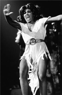 Tina Turner by Bob Gruen  Before Beyonce there was The Queen.