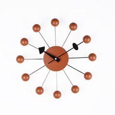 George Nelson, Ball Clock, Wall Clock, Orange, France and Son, http://www.franceandson.com/ball-clock-orange.html
