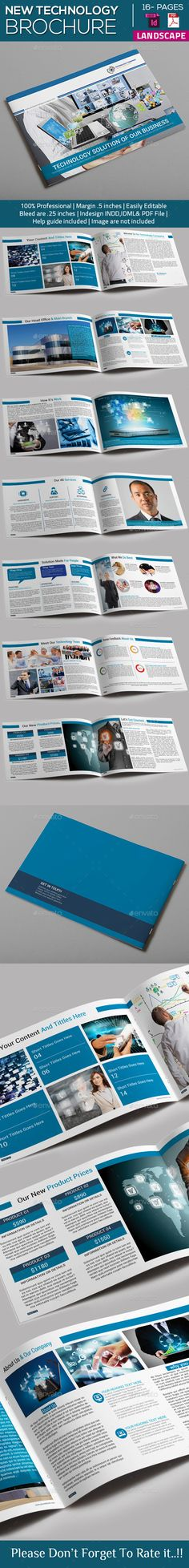 Technology Brochure Catalog Template V3 Brochures Catalog And