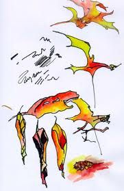 autumn leaves watercolor - Google Search