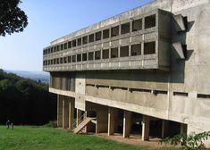 Sainte Marie de La Tourette was one of Le Corbusier's last completed buildings in Europe
