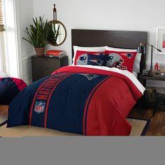 New England Patriots Full Comforter Set (Soft  amp  Cozy) (76x86)  109.95 ca5453b19