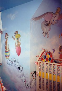 My kids nursery or playroom will look like this!!