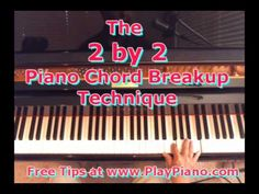 ▶ The '2 by '2 Piano Chords Breakup Technique - YouTube