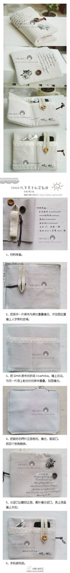 How to make your cool iphone bag step by step DIY tutorial instructions | How To Instructions: