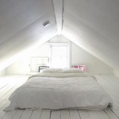 Awesome Small Attic Bedroom For Your Home. Below are the Small Attic Bedroom For Your Home. This post about Small Attic Bedroom For Your Home was posted under the Bedroom category by our team at August 2019 at pm. Hope you enjoy it and don& . Attic Bedroom Small, Attic Loft, Loft Room, Attic Spaces, Extra Bedroom, Attic Bathroom, Attic Renovation, Attic Remodel, Small Attics