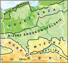 Wydawnictwa Edukacyjne WIKING - Portal Edukacyjny - CJD_Polska_PasyKrainy Poland, Portal, Homeschool, Study, Education, Inspiration, Geology, Geography, Polish Language