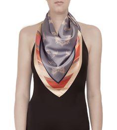 KHAYA III Silk Satin Scarf by VIVIAN Contemporary Andean Design, £165 http://shop.vivianhidalgo.com/?product=khaya-iii