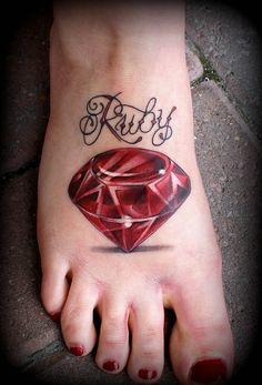 ruby tattoo | ea6ae4
