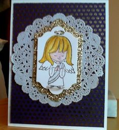 Angelic Cutie by SingsHeart - Cards and Paper Crafts at Splitcoaststampers