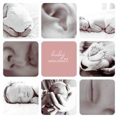 Cute Baby Announcement Idea