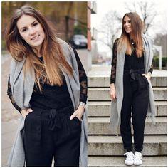 Isabel Marant Top, H&M Pants, Adidas Shoes, Weekday Scarf