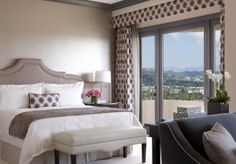 Presidential East Suite 004 Four Seasons Hotel Redesign Capturing the Glamor of 1940s Hollywood