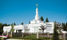 Spokane Washington Temple of The Church of Jesus Christ of Latter-day Saints. #LDS #Mormon