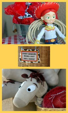 Too cute...a Jessie western-themed birthday party...