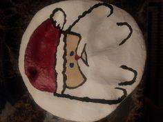 Blake's salt dough handprint ornament