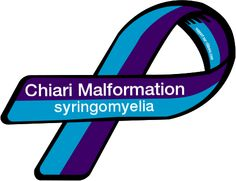 chiari ribbon | Custom Ribbon: Chiari Malformation / syringomyelia