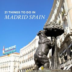 If you're headed to Madrid, check out our list of 21 remarkable things to do in Madrid Spain to find the best views of the city and places to hang out.