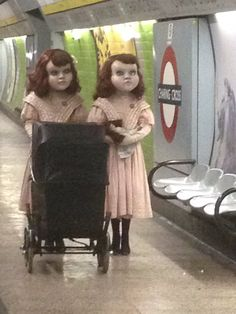 These Two Creepy Dolls Are Spotted In London And People Are Terrified