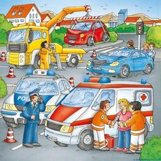 Typically there are stories that accompany each illustration. Writing Pictures, Picture Writing Prompts, Picture Comprehension, People Who Help Us, Picture Composition, Hidden Pictures, Picture Story, Community Helpers, Language Development