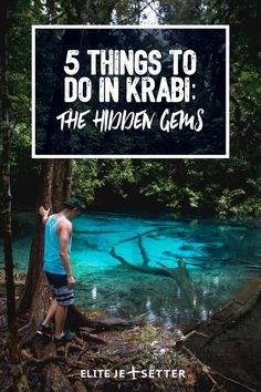things to do in krabi thailand | hot springs in thailand | hot springs in krabi | natural beauty krabi | thailand travel | exploring thailand | exploring paradise in Krabi | sightseeing in Krabi via @elitejetsetters