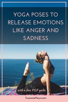 The body stores emotions in its tissues and yoga encourages them to release and heal. Click through to read this article and learn specific poses to release emotions like anger, sadness, grief and mor Yin Yoga, Yoga Meditation, Yoga Bewegungen, Yoga Pilates, Yoga Moves, Yoga Flow, Yoga Exercises, Pilates Reformer, Vinyasa Yoga