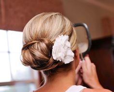 Wedding hair by: Lindsey Reed