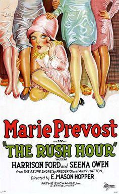 The Rush Hour (1928) ~ Bizarre Los Angeles