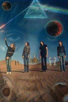 Fotos,pinturas,textos e curiosidades da maior banda de rock do planeta.